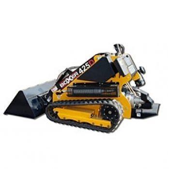 PÁSOVÝ MININAKLADAČ BOXER D324, hmotnosť 850 kg, nosnosť 600 kg