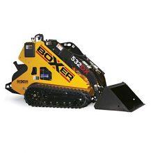 PÁSOVÝ MININAKLADAČ BOXER 522DX, hmotnosť 1250 kg, nosnosť 600 kg